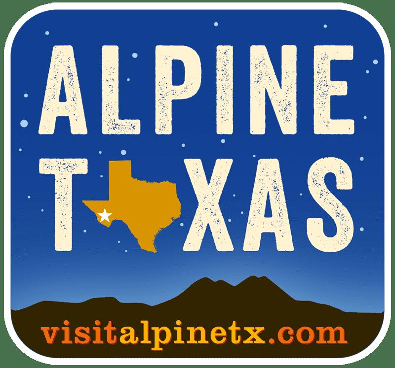 Visit Alpine, Texas Logo