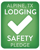 Alpine Lodging Safety Pledge