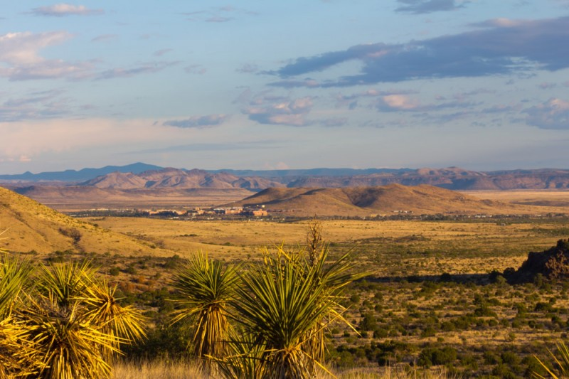 Morning Landscape Alpine Texas