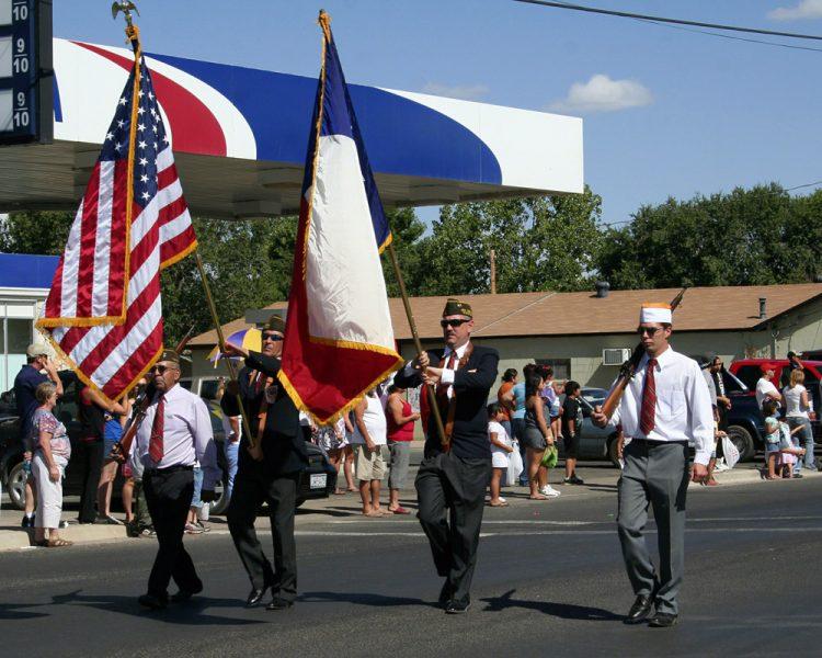 alpine parade july fourth honor guard