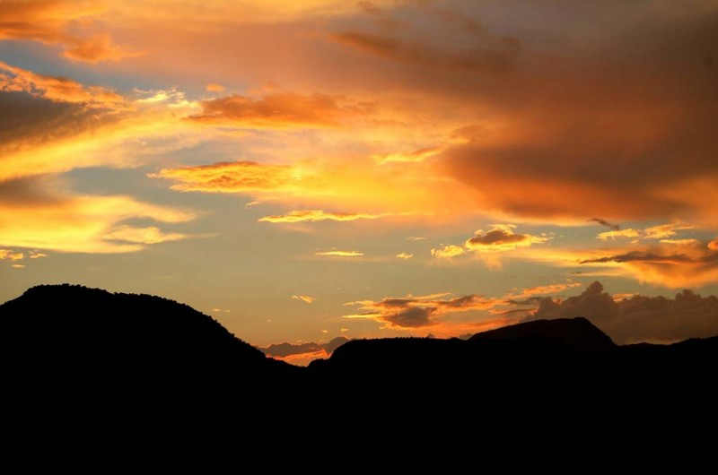 Sunny Glen Sunset