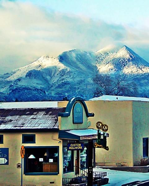 Alpine Twin Peaks Christmas Snow