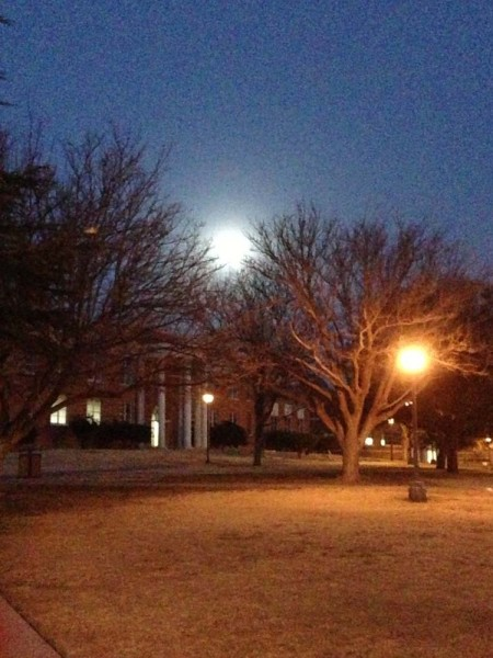Full Moon over Sul Ross