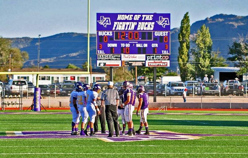 Buck Stadium, Home of the Alpine Fightin' Bucks