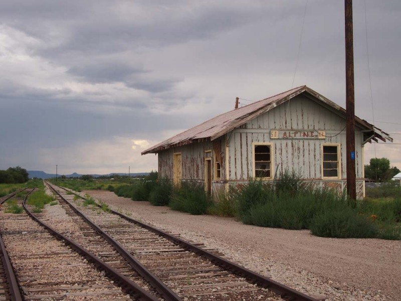 Old Alpine Train Station