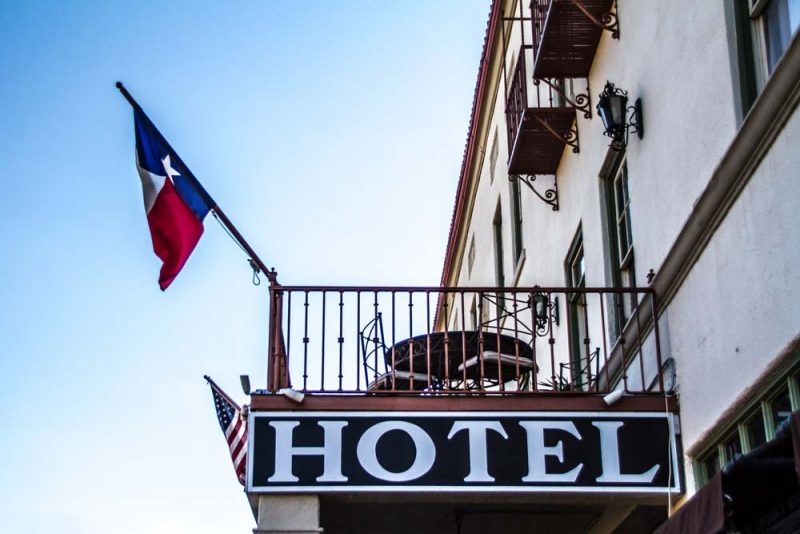 Hotel Balcony, Texas Style