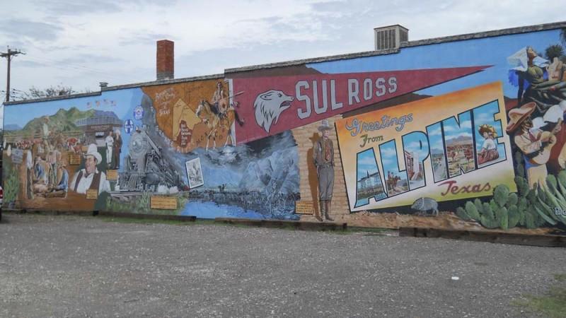 Kiowa Mural