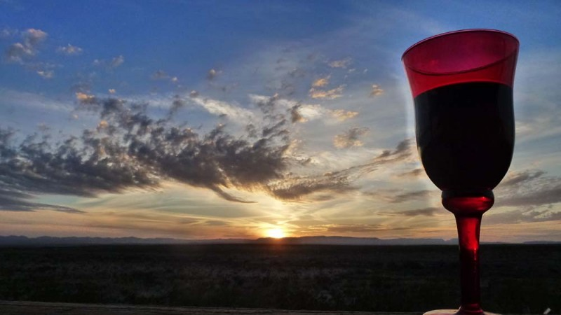 Sunset Wine