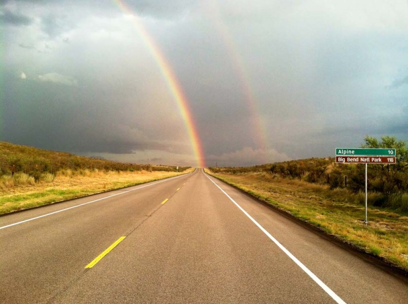 Rainbow to Alpine
