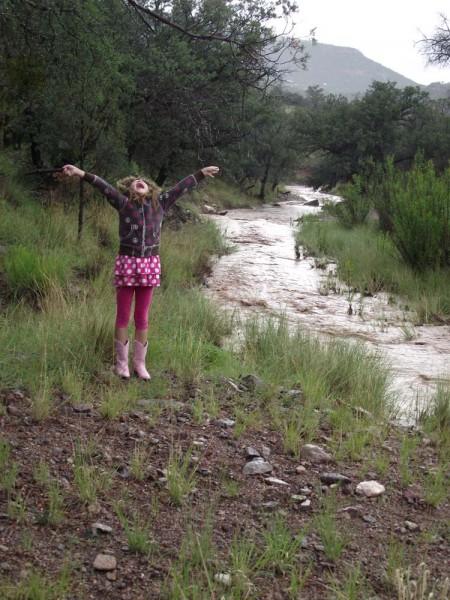 Thanks God for the Rain