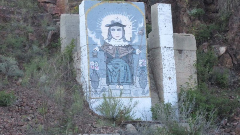 Santo Nino de Atocha 5 Tortonto Mountain 5 miles west of Alpine, #2