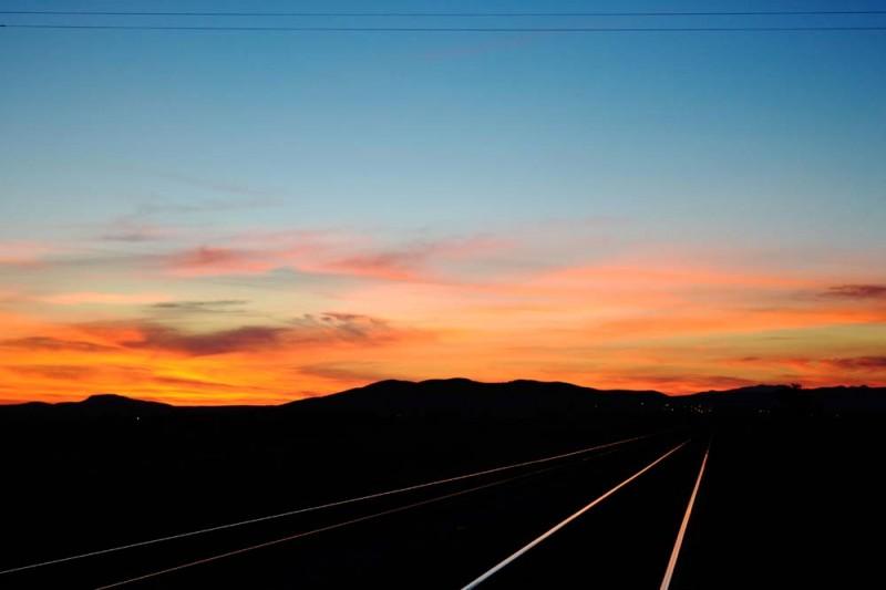 Daybreak over Alpine