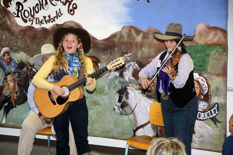 Kristyn Harris & Rodeo Kate at Texas Cowboy Poetry Gathering