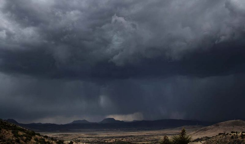 Spring Storm - View from Big Hill