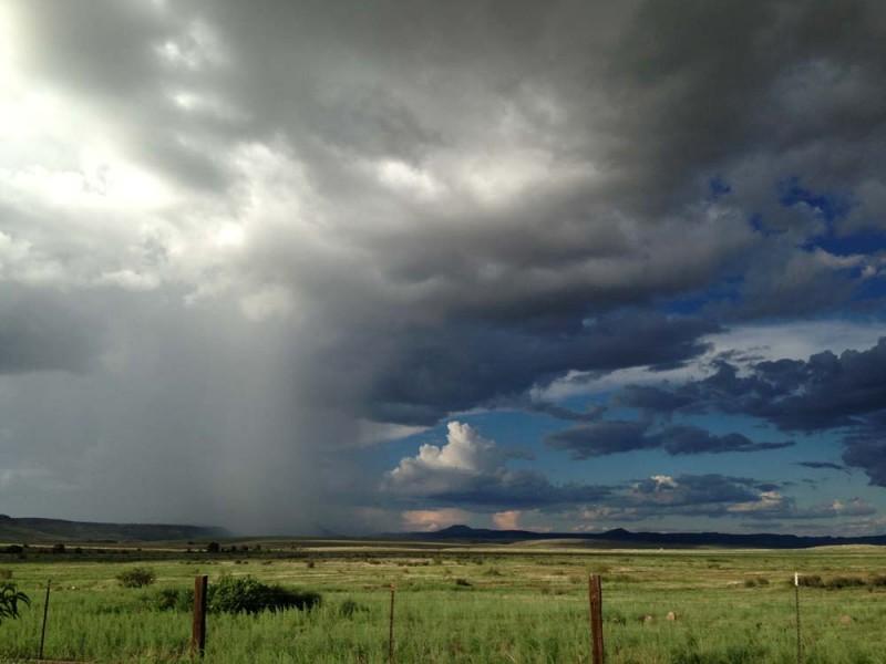 West Texas Rain Storm