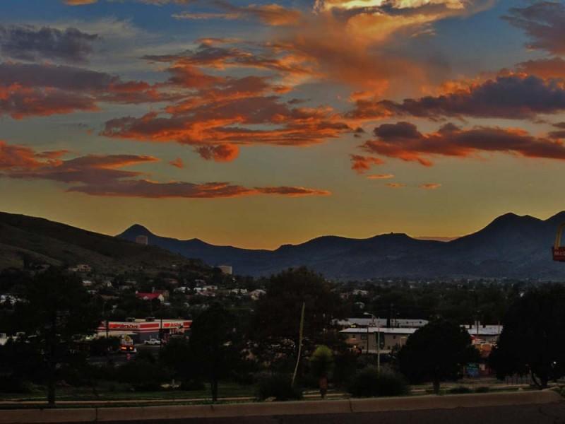 Alpine Sunset Alpine Texas